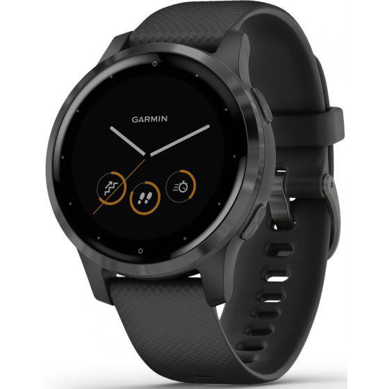 Garmin Vivoactive 4S PVD Black and Slate GPS-älykello 010-02172-12