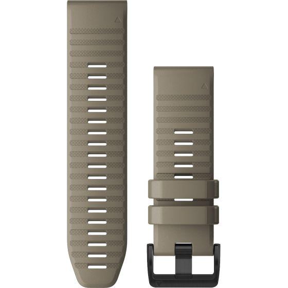 Garmin Quickfit 26mm hiekkakiven värinen silikoniranneke 010-12864-02