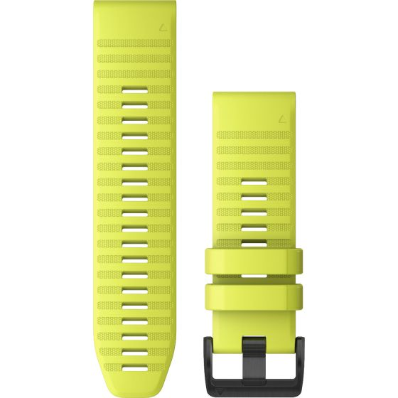 Garmin Quickfit 26mm kirkkaankeltainen silikoniranneke 010-12864-04