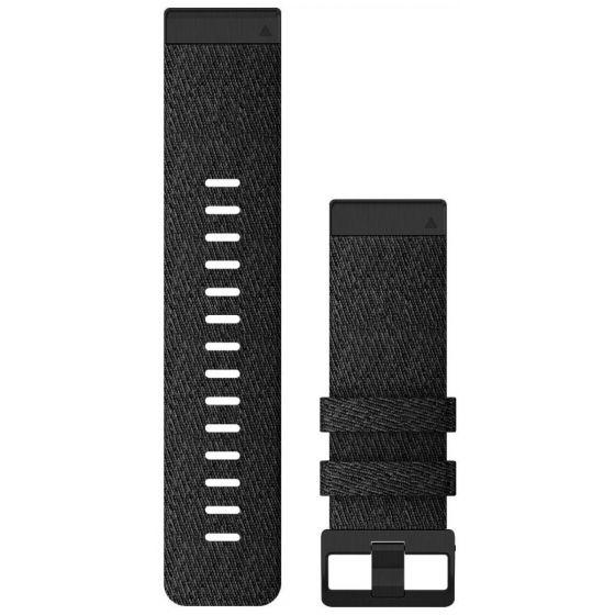 Garmin Quickfit 26mm musta nailonranneke 010-12864-07