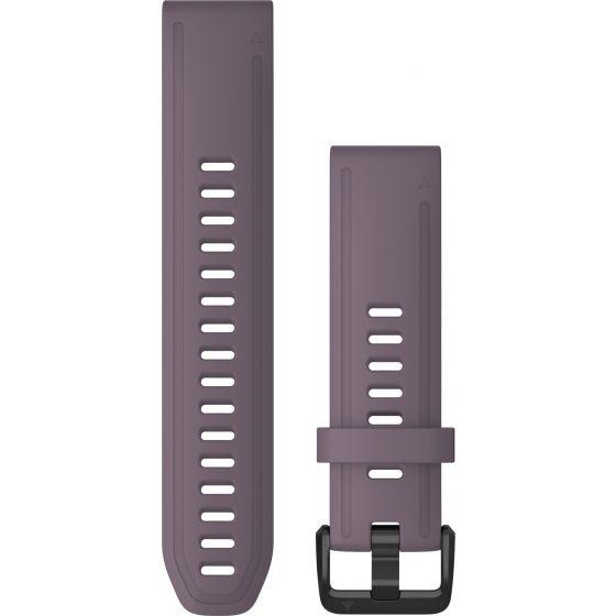 Garmin Quickfit 20mm violetti silikoniranneke 010-12871-00