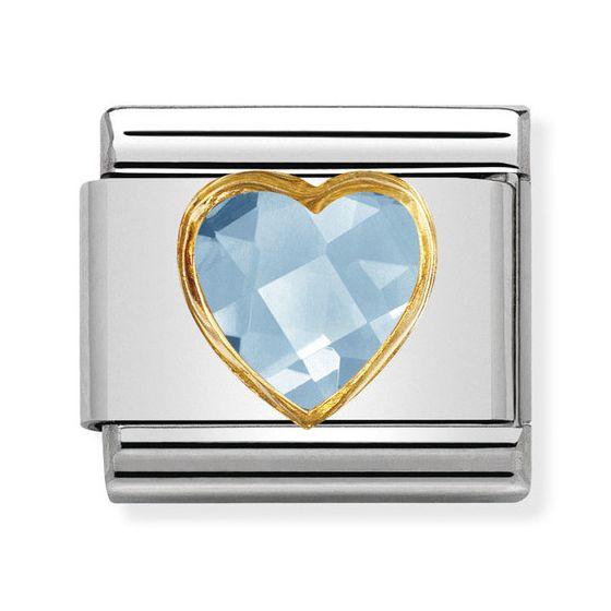 Nomination Gold Light Blue 030610-006