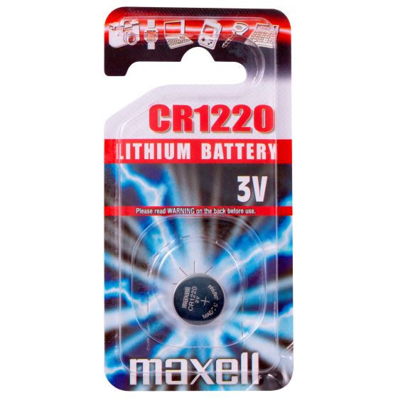 Maxell litiumparisto CR1220 3V