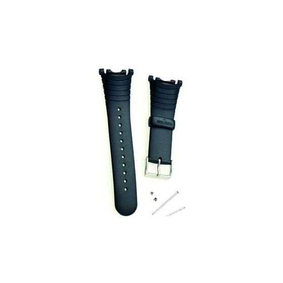 Suunto Vector ranneke, musta elastomeeri SS004768000