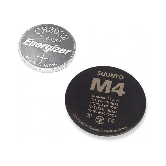 Suunto M4 vaihtoparisto, musta takakansi