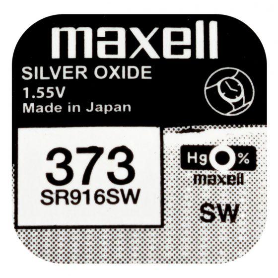 Maxell SR916SW hopeaoksidiparisto 373
