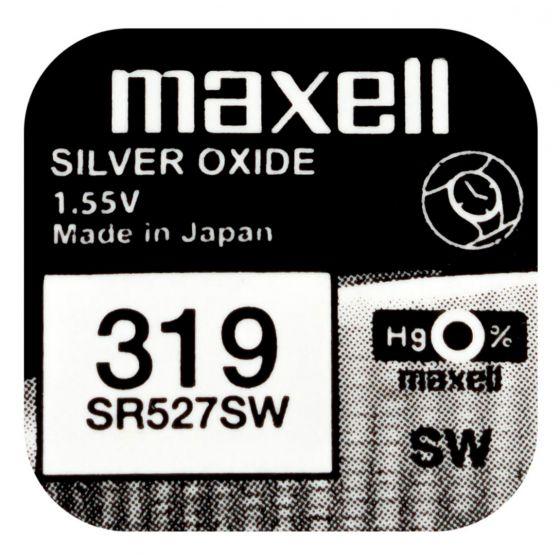 Maxell SR527SW hopeaoksidiparisto 319
