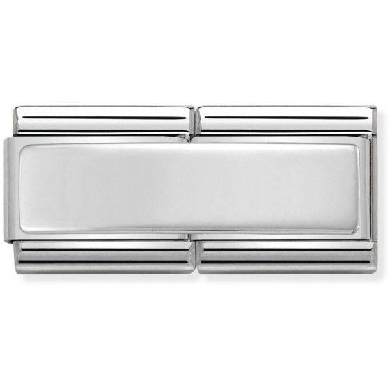 Nomination SilverShine double 330710-01 Silver Kaiverrettava