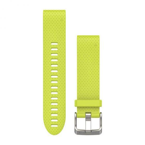 Garmin Fenix 5S QuickFit 20mm silikoniranneke Keltainen 010-12491-13