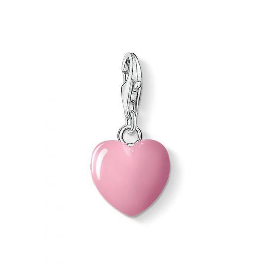 Thomas Sabo Charm Club pinkki sydän 0565-007-9