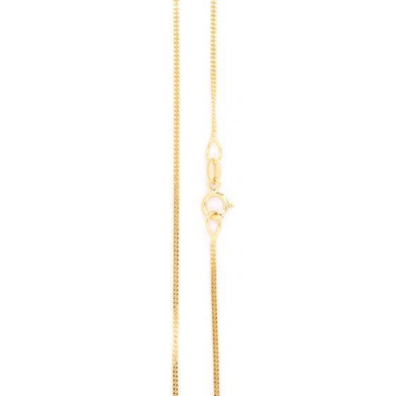 Panssariketju 0.95mm kultainen PANS028
