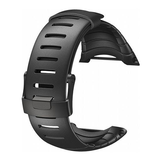 Suunto Core ranneke, All Black SS014993000