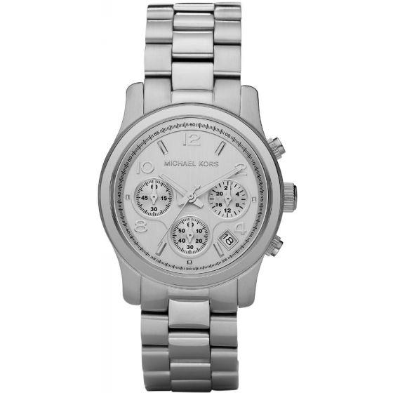 Michael Kors MK5076 Runway Silver Chronograph