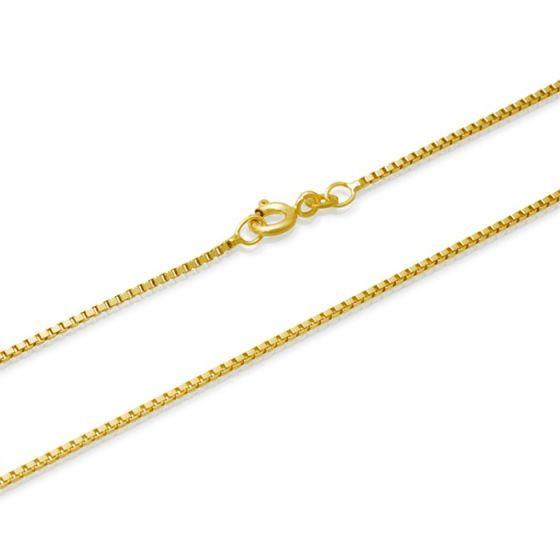 Kultainen riipusketju venetsia 45 cm, paksuus 0,7 mm