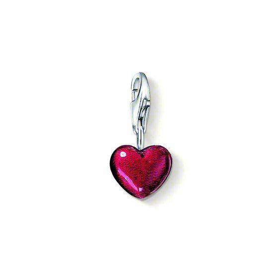 Thomas Sabo Charm punainen sydän hela 0794-007-10