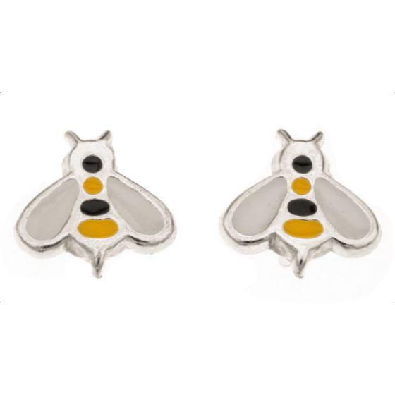 Silver Bar Bee korvakorut 7 mm 4978