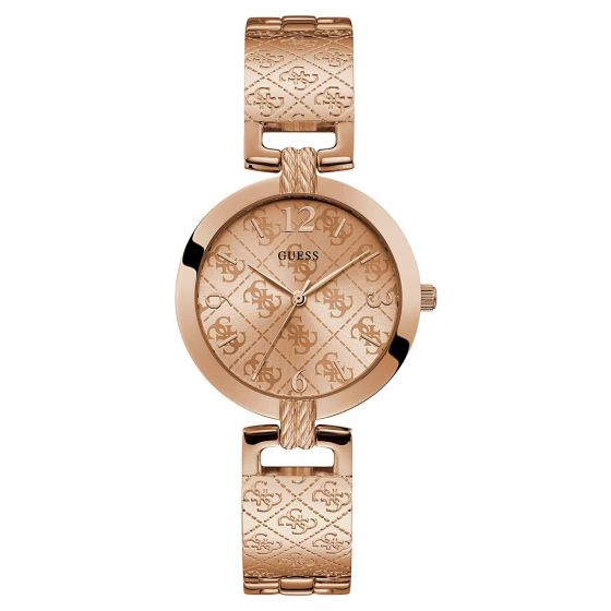 GUESS G Luxe W1228L3 Rose Gold