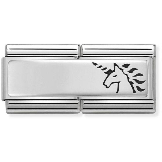 Nomination Silvershine Double Unicorn 330710-18