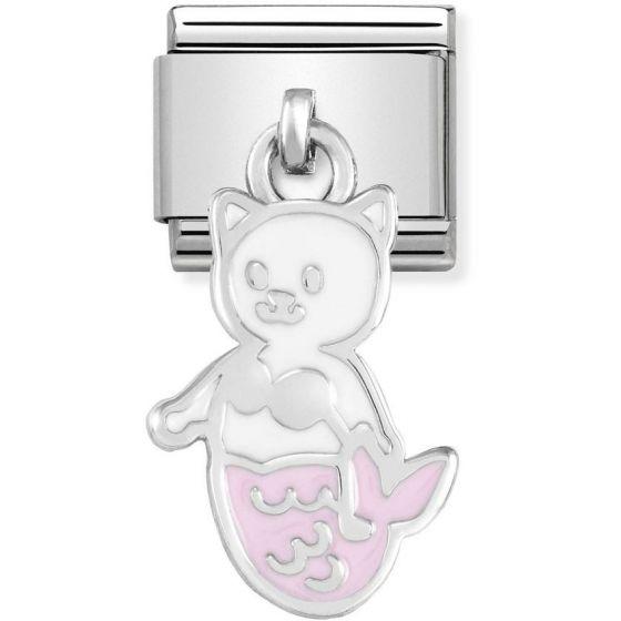 Nomination Silvershine White and Pink Mermaid Cat 331805-16