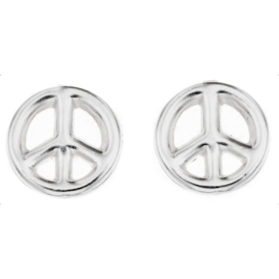 Silver Bar Peace korvakorut 7 mm 8067