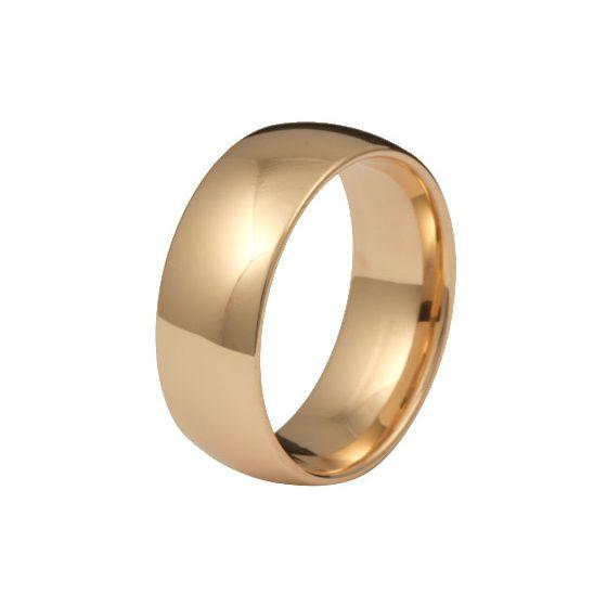 Kohinoor 903-524 8mm sormus, tynnyri 14k kulta