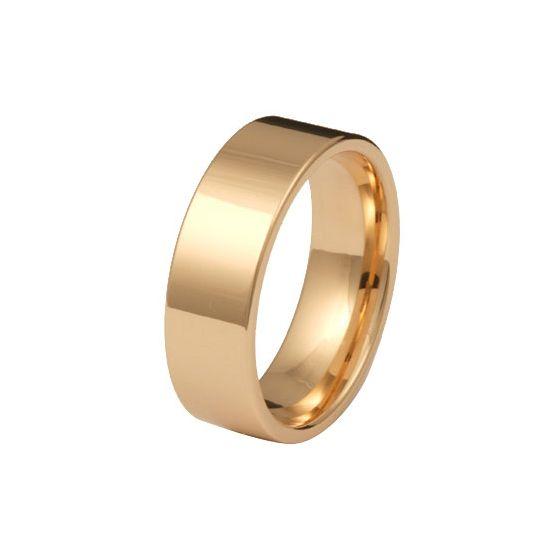 Kohinoor 903-529 7mm keltakultasormus, 14k kulta flakka