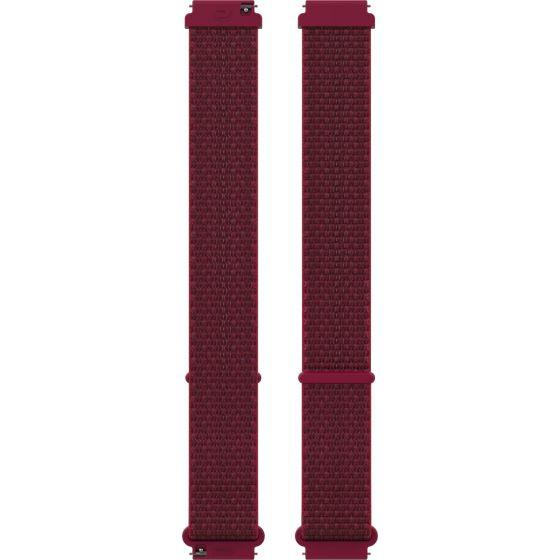Polar Ignite ja Unite nailonranneke 20 mm Red S-M Hook&Loop 91081808