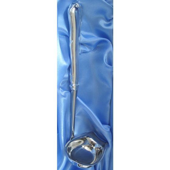 Chippendale hopeinen kastikekauha