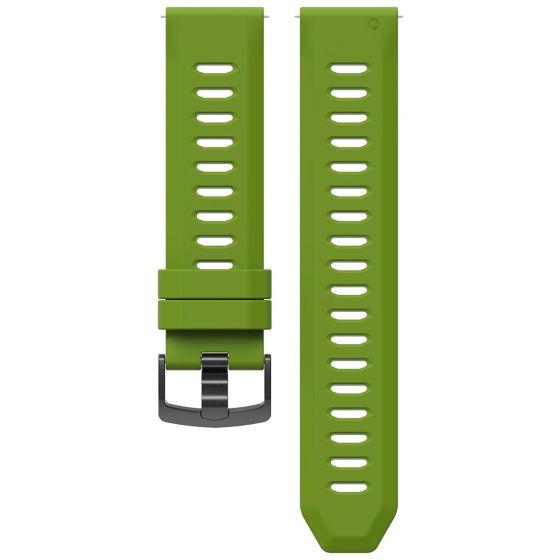 COROS Apex 46 mm / Apex Pro silikoniranneke limenvihreä