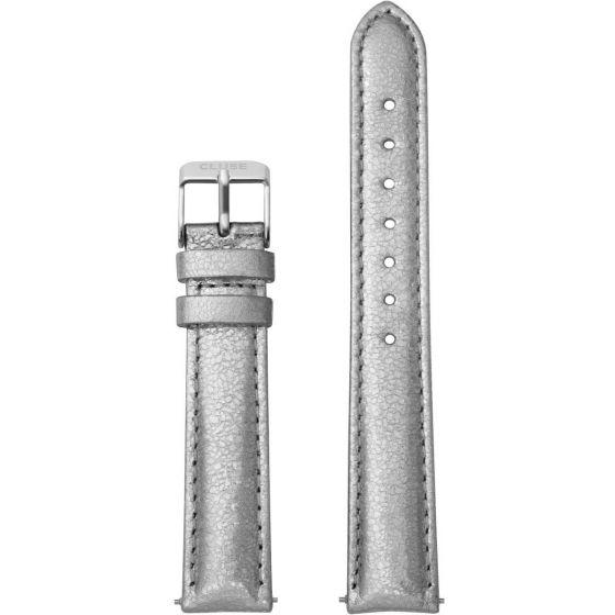 Cluse Minuit CLS358 Silver Metallic/Silver ranneke