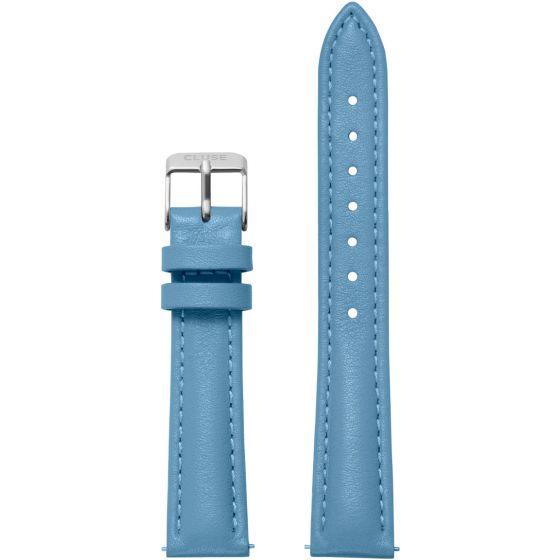 Cluse Minuit CLS367 Retro Blue/Silver ranneke 16 mm