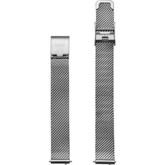 Cluse La Vedette CLS501 Mesh Silver ranneke 12 mm