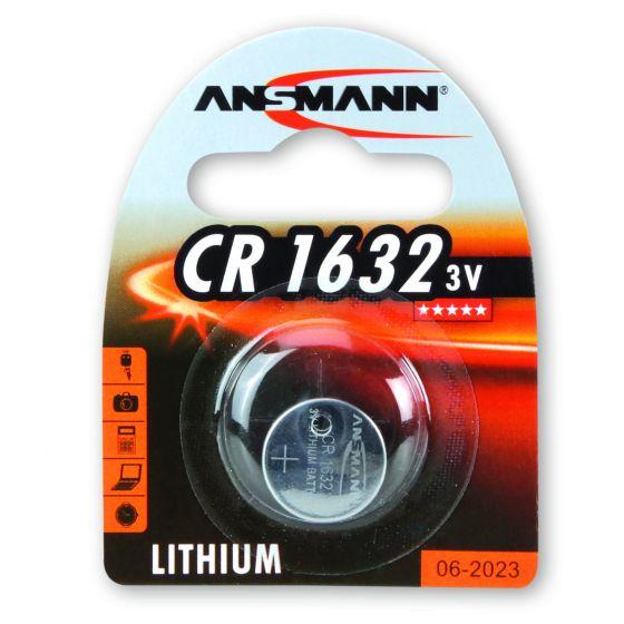 Ansmann litiumparisto CR1632 3V