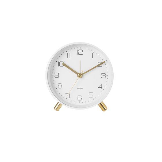 Karlsson Lofty 11 cm valkoinen herätyskello KA5752WH