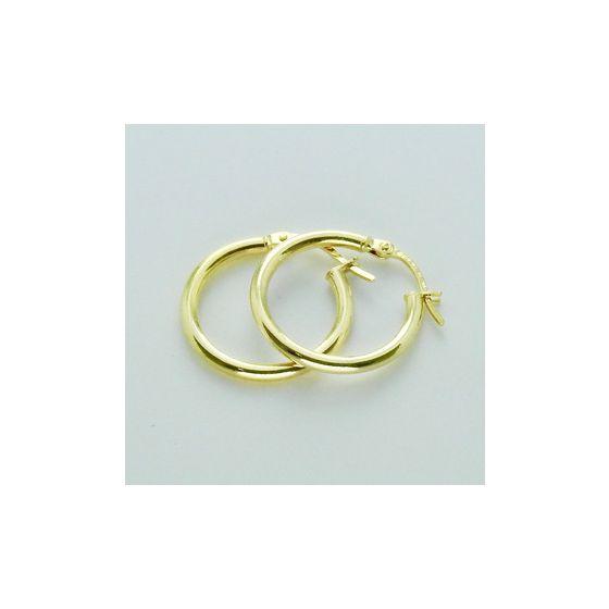 Kultaiset rengaskorvakorut saranoilla 18 mm KR1-13