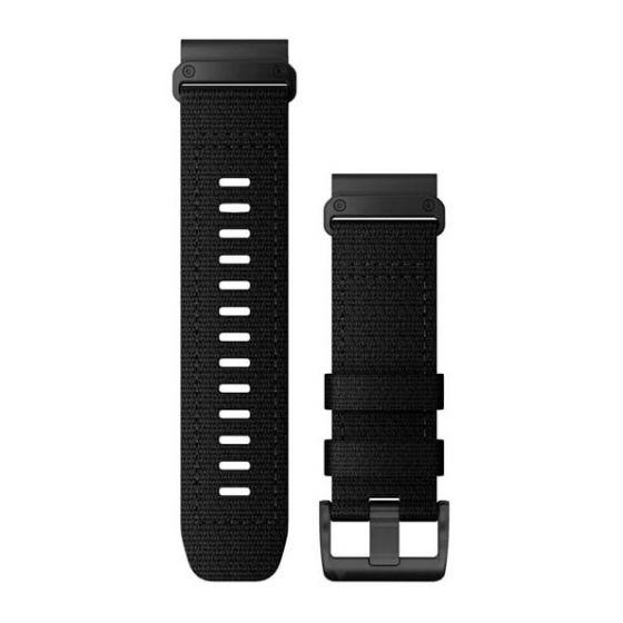Garmin Tactix Delta QuickFit 26 -nylonranneke musta 010-13010-00