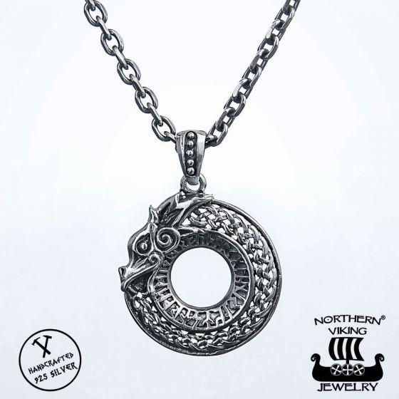 Northern Viking Jewelry Dragon hopeariipus NVJ-H-RS033