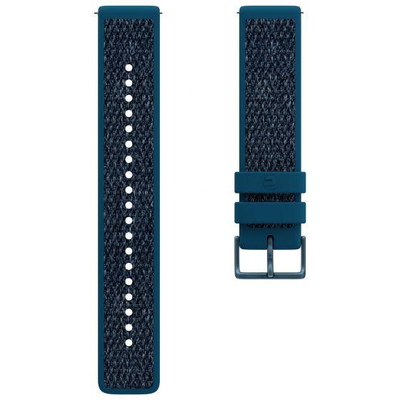 Polar Ignite 2 sininen fluorokumi-tekstiiliranneke 91085644