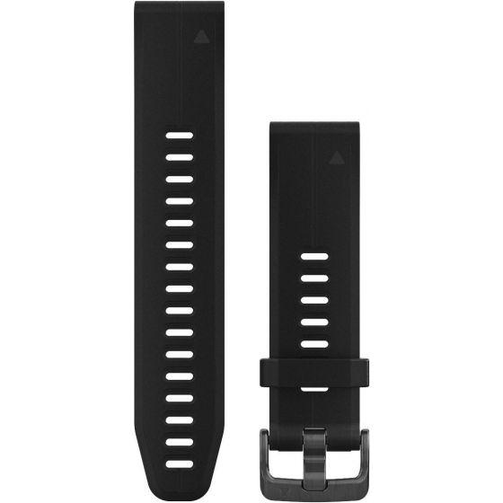 Garmin Quickfit 20mm ranneke 010-12739-00 musta silikoni