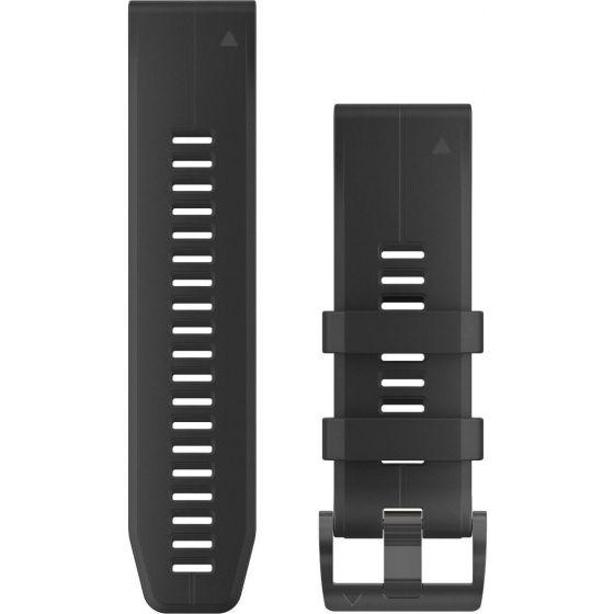 Garmin Quickfit 26mm ranneke 010-12741-00 musta silikoni