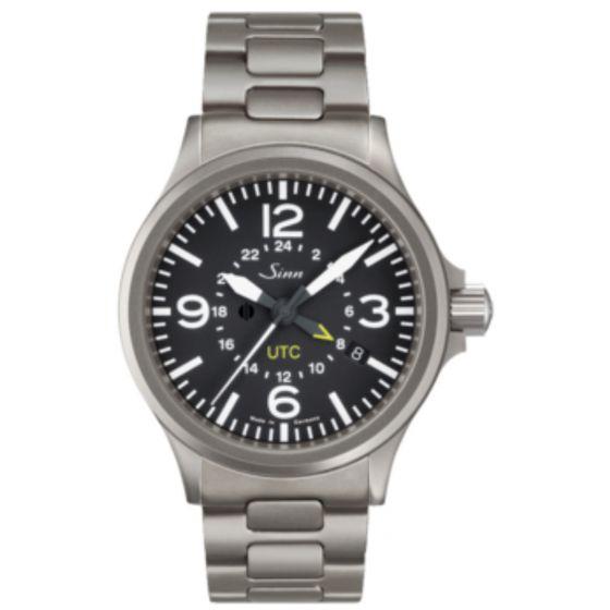 Sinn 856 UTC with tegiment bracelet