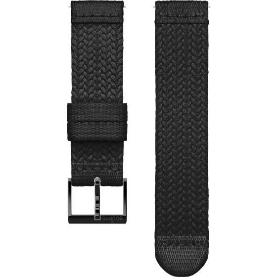 Suunto 3 Athletic 5 Black punottu tekstiiliranneke 20 mm SS050374000