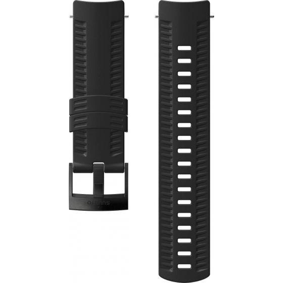 Suunto 9 Baro musta silikoniranneke SS050105000