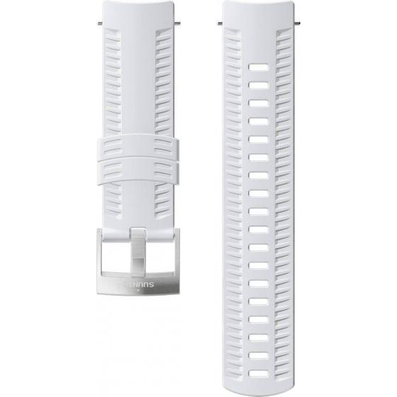Suunto 24mm Athletic 2 White silikoniranneke SS050106000