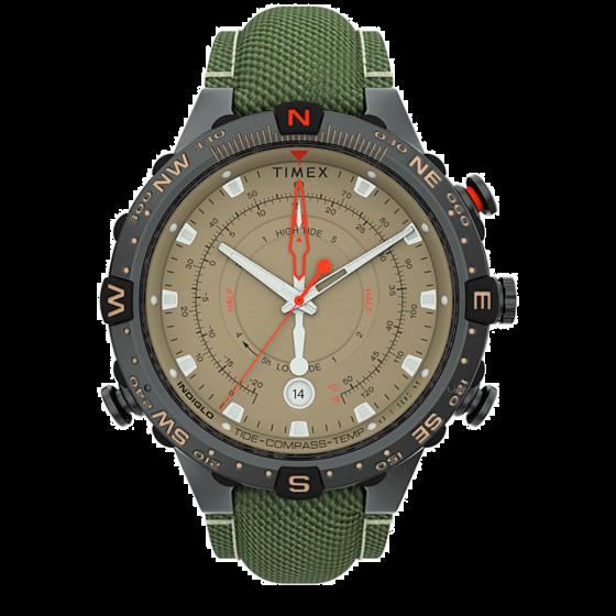 Timex Allied® Tide-Temp-Compass with Intelligent Quartz® Technology 45mm TW2T76500