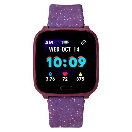Timex Kids Active iConnect Purple Galaxy älykello TW5M40800