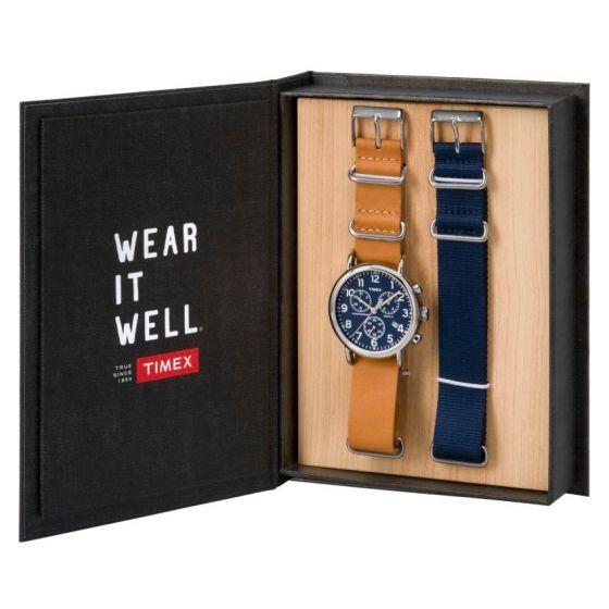 Timex Weekender Chronograph Set TWG012800