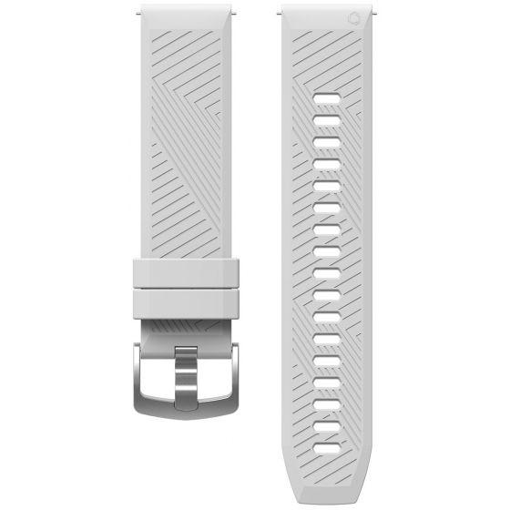 COROS Apex 46 mm / Apex Pro silikoniranneke valkoinen WAPX-WB-WHT
