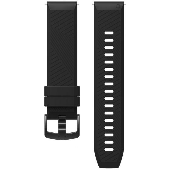 COROS Apex 42 mm silikoniranneke musta
