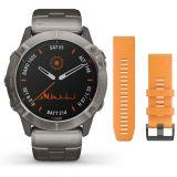 Garmin Fenix 6X Pro Solar Titanium älykello 010-02157-24